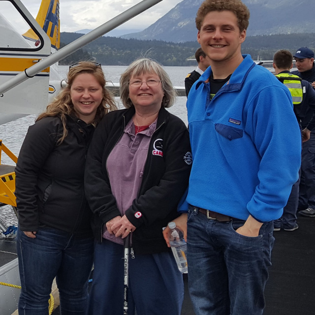 Kathie, Chris & Jenn